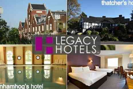 The Legacy Hotels - Fantastic Stays with family Make a weekend of visiting Thorpe Park and more places - Save 50%