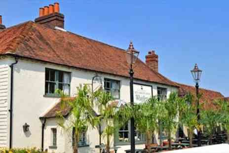 The Carnarvon Arms -  Two Night Stay for Two with Dinner at Berkshire - Save 52%