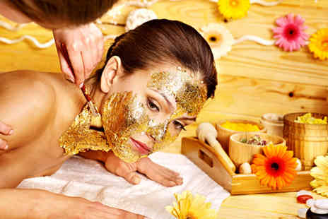 Nicky Salon - Gold facial and 30 minute Indian head massage - Save 75%