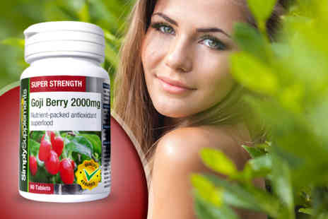 Pinnacle Health -  240 capsule bottle of goji berry supplements - Save 50%