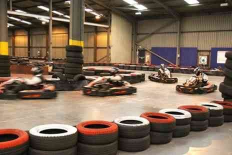 Cumbria Karting - Half Hour Race Plus Three Bowling Games - Save 50%