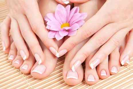 A Touch of Beauty - Gel Nail Manicure or Pedicure - Save 50%