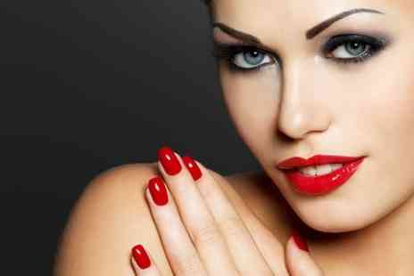Color Beauty Salon - OPI Manicure With Gelish Nails - Save 65%