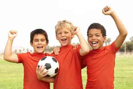 Soccer Sensations Hull - Childrens Football or Rugby Party With Buffet - Save 54%