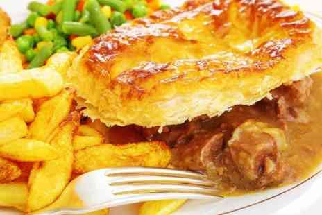 The Old Crown - Pie Meal and Dessert - Save 47%