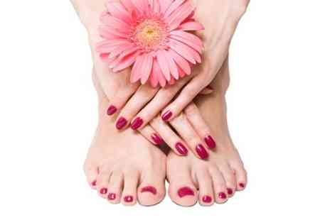 Jack Craggs - Shellac Mini Manicure and Pedicure - Save 62%