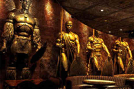 Shaka Zulu - South African Three Course Meal with Sparkling Cocktails for Two - Save 58%