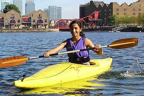 Shadwell Basin - Two Hour Introduction to Kayaking or High Level Ropes Course - Save 50%