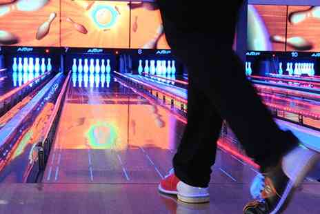 World Of Bowling - Strike One hour s Bowling for Six and a Large Pizza - Save 57%
