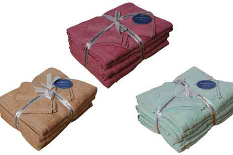 Absolute Home - Choice of Egyptian Towel Bale Sets - Save 47%