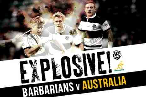 International Sports - Barbarians v Australia  ticket at Twickenham Stadium - Save 8%