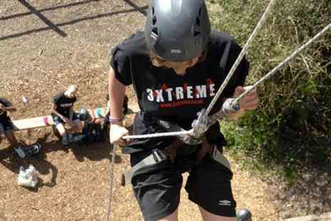 3xtreme - Half Day Rock Climbing and Abseiling Experience - Save 68%