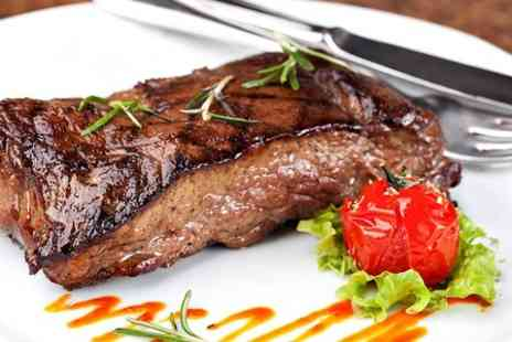 The Cricketers Pub & Grill - Two Course Steak Meal For Two  - Save 54%
