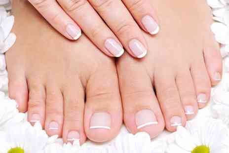 Glam R Us - Gelish Manicure or Pedicure - Save 60%