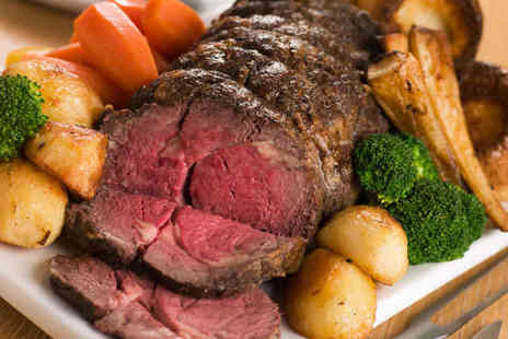 Chelsea Bar & Brasserie - Sunday Lunch for Two with Dessert and Glass of Wine Each - Save 51%