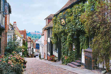 Rye Lodge Hotel - Overnight stay for two at Historic Rye - Save 50%