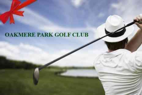 Oakmere Park Golf Club - Six 60 Minute Golf Lessons With PGA Pro Plus 18 Holes of Golf - Save 69%