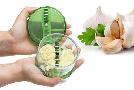 Simply Live - GarlicPro Dicer No touch cooking gadget - Save 56%