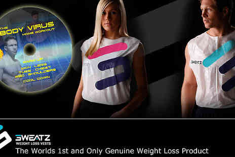 Sweatz Sportz - Sweatz vest weight loss and workout package - Save 60%