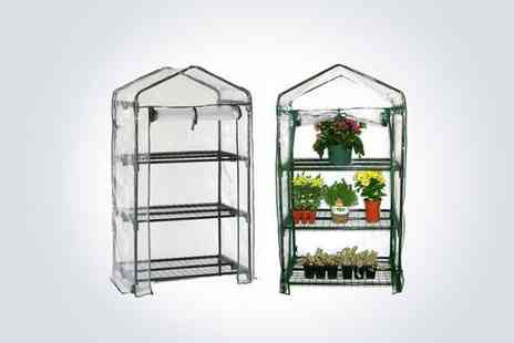 Better Bargains - Three tier greenhouse and cove  - Save 53%