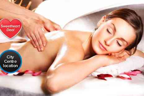 William Anthony -  Luxury massage package including a half body massage mini facial  - Save 54%
