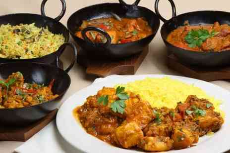 Tandoori Garden - Three course Indian meal for two with sides - Save 50%
