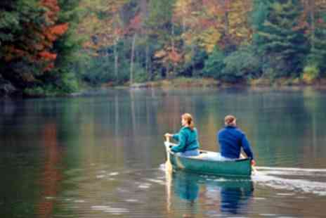 Go Country - Canoeing and Camping For Two - Save 50%