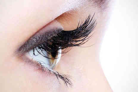 Hair On The Hill - Eyelash Extensions or Express Pedicure and Express Manicure with Gel - Save 58%