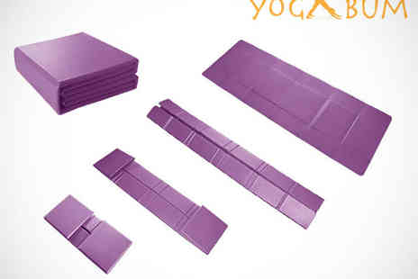 Yogabum - Foldable Yoga Mat - Save 50%