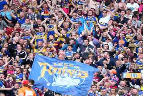 Rugby League -  Tickets  to the Rugby Leagues Magic Weekend 2014 - Save 40%