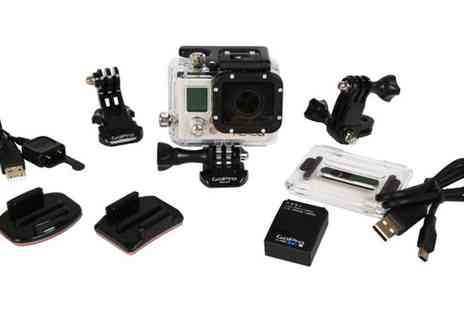 The Hut Group - GoPro Hero3 Silver Edition Camera Bundle - Save 21%