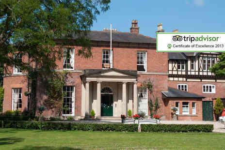 The Old Rectory Hotel - Two night break for 2 people including a box of chocolates & daily breakfast - Save 53%