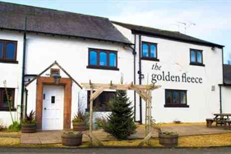 The Golden Fleece - Cumbria Country Inn with 3 Course Dinner & Wine - Save 44%