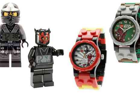The Hut Group - A Range of LEGO Watches and Clocks � P&P Included - Save 47%