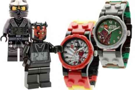 The Hut Group - A Range of LEGO Watches and Clocks � P&P Included - Save 32%