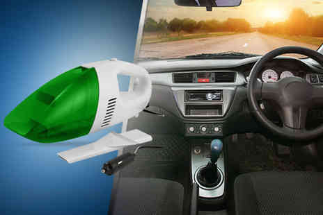 Gadgets and More - An in car vacuum - Save 64%