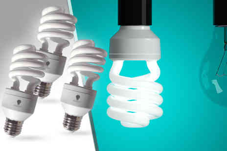 The Daylight Company - 3x 20W energy saving light bulbs - Save 50%