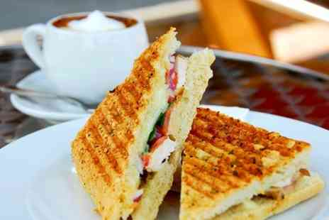 Number 29 Deli and Cafe - Panini Cake and Hot Drink For One - Save 50%