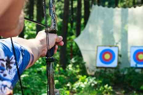 The Activities Group - Archery Paintball Target Range and Shooting - Save 64%