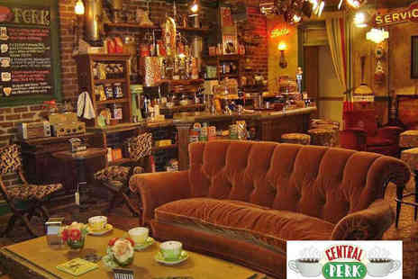 Central Perk - Coffee and Cake Each for Two - Save 50%