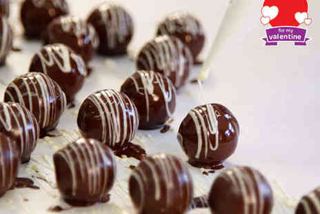 MyChocolate - Valentines Chocolate Making Workshop with Prosecco, Fondue and Goody Bag for Two People - Save 52%
