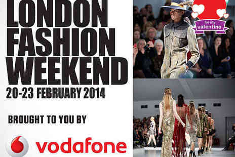 London Fashion Weekend - Bronze Day Ticket February 20, 21, 22, or 23 - Save 31%