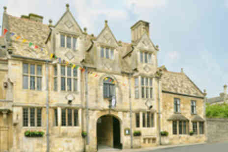The Talbot Hotel  Oundle - Historic Northamptonshire Inn Stay for Two - Save 48%