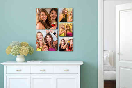 1clickprint - Five handmade floating photo prints - Save 70%
