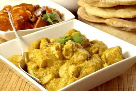 The Cinnamon Lounge - Two Course Indian With Sides For Two - Save 63%