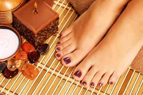 Guys N Dolls - Shellac Manicure or Pedicure - Save 69%