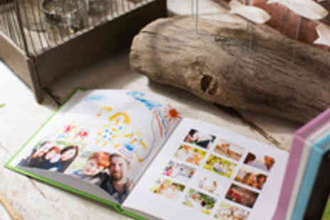 Huggler - Voucher for a Choice of 26 or 100 Page Personalised Photo Book - Save 61%