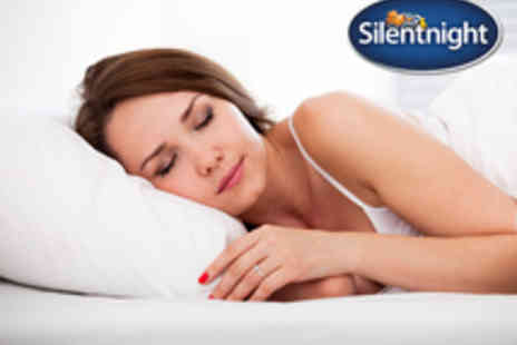 Branded Bedding - Voucher for Silentnight Bounce Back Pillows with Anti Allergen Protectors - Save 57%