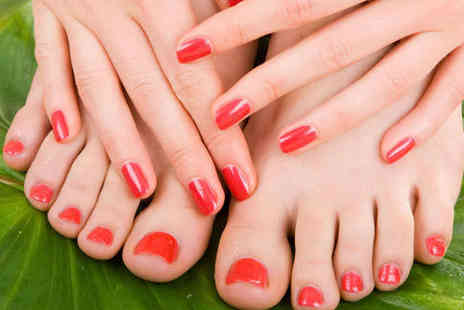 Meleks Extreme Elegance - Classic Manicure and Pedicure - Save 53%