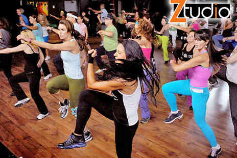 Ztudio Fitness and Dance - A Choice of Any Ten Classes From Body Bounce  Ballet Burn, Zumba, or Circuit Classes - Save 60%
